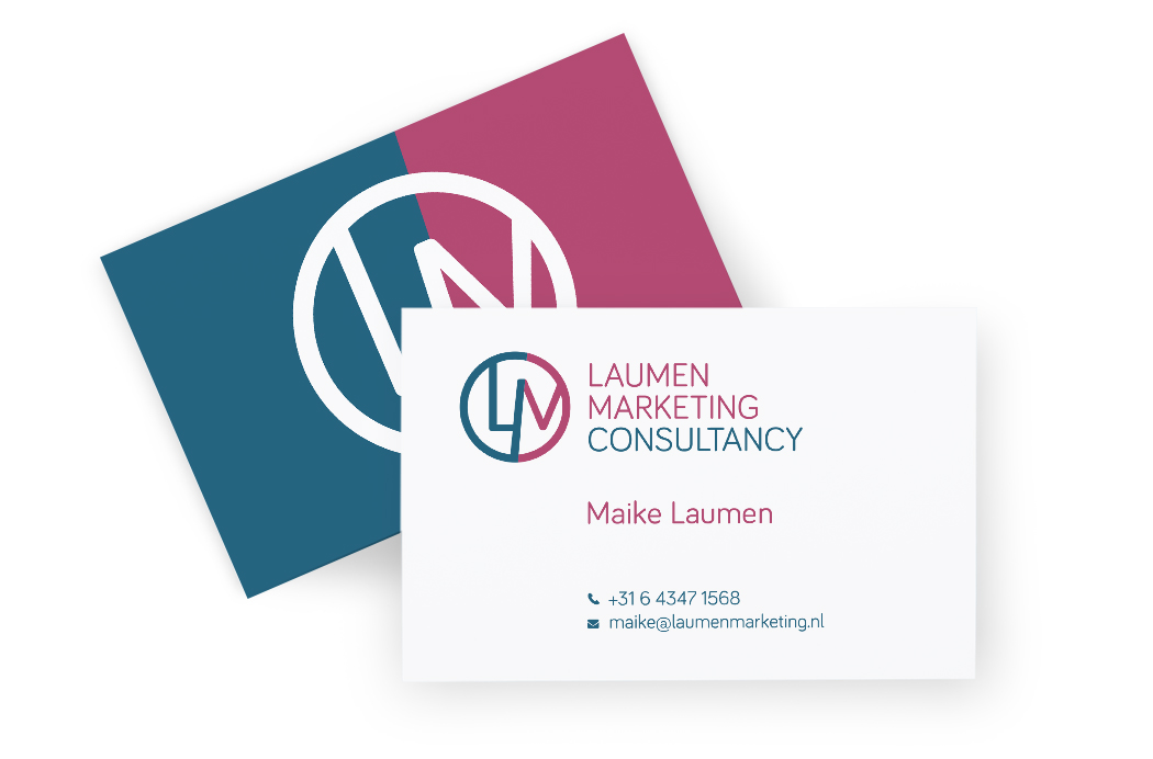 Huisstijl Laumen Marketing Consultancy