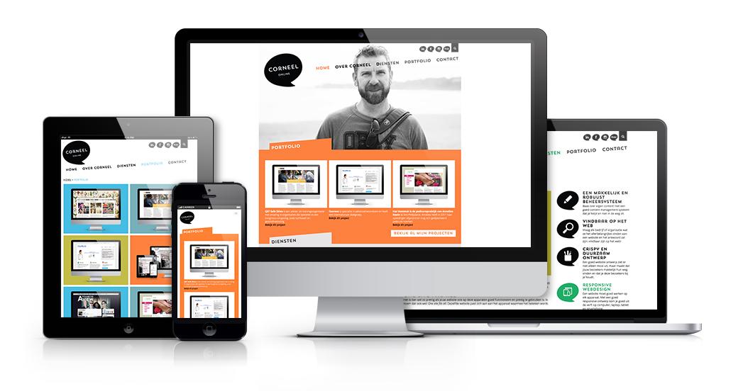 Website ontwerp Corneel Online