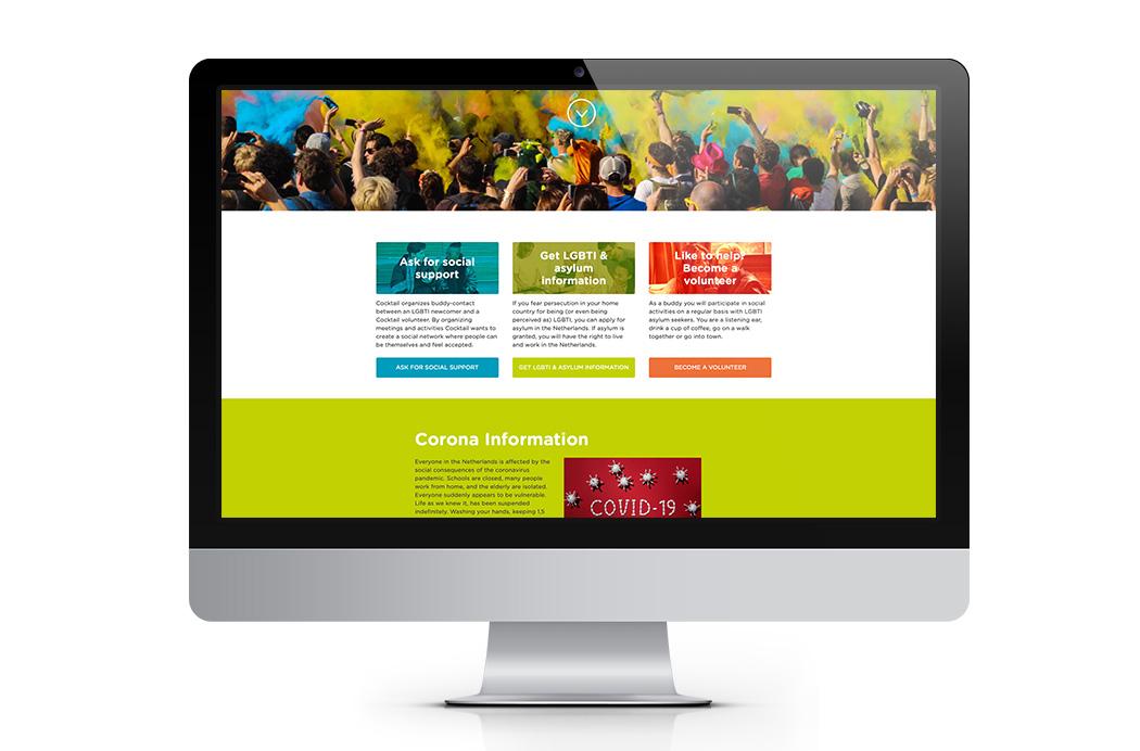 Webdesign Cocktailonline.nl - COC Nederland